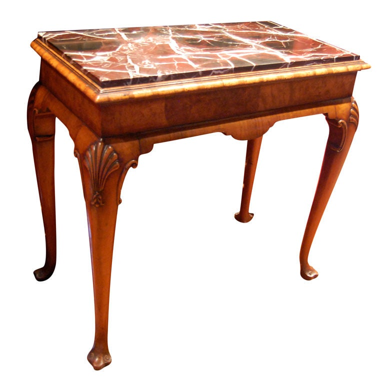 Queen Anne Revival Console Or Side Table At 1stdibs