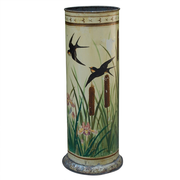 Tole Umbrella Stand At 1stdibs