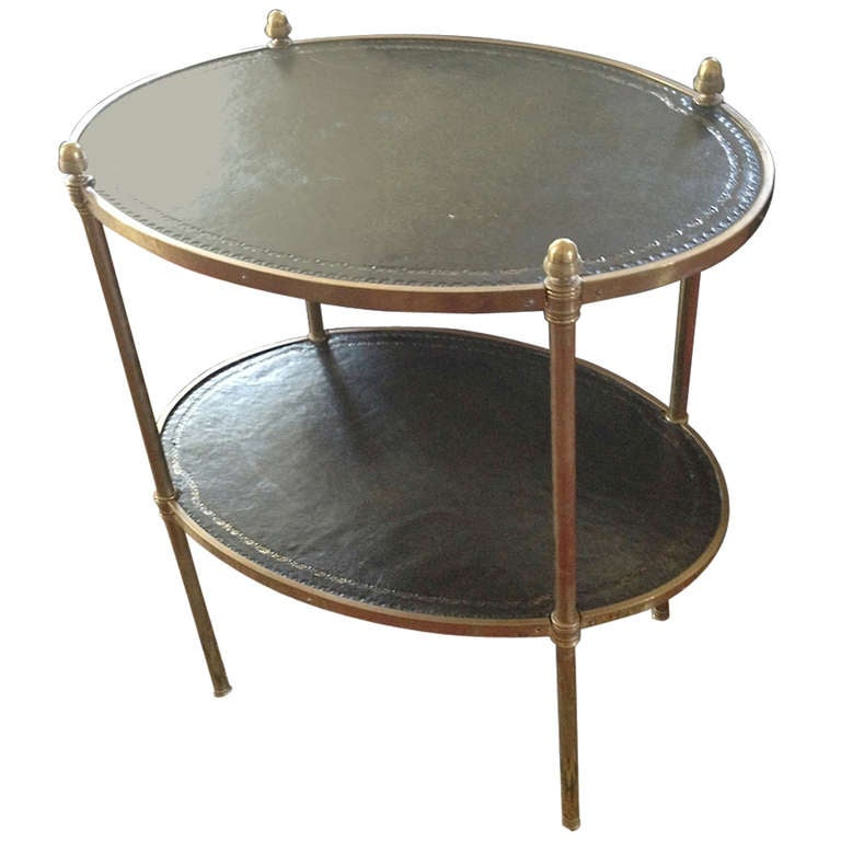 Leather And Brass Cocktail Table At 1stdibs. School Desks Canada. Keyboard Drawers. Small Round End Table. Desk Chair Mat. Slate Pool Table. Pool Table Prices. Outdoor Sink Table. Dining Tables