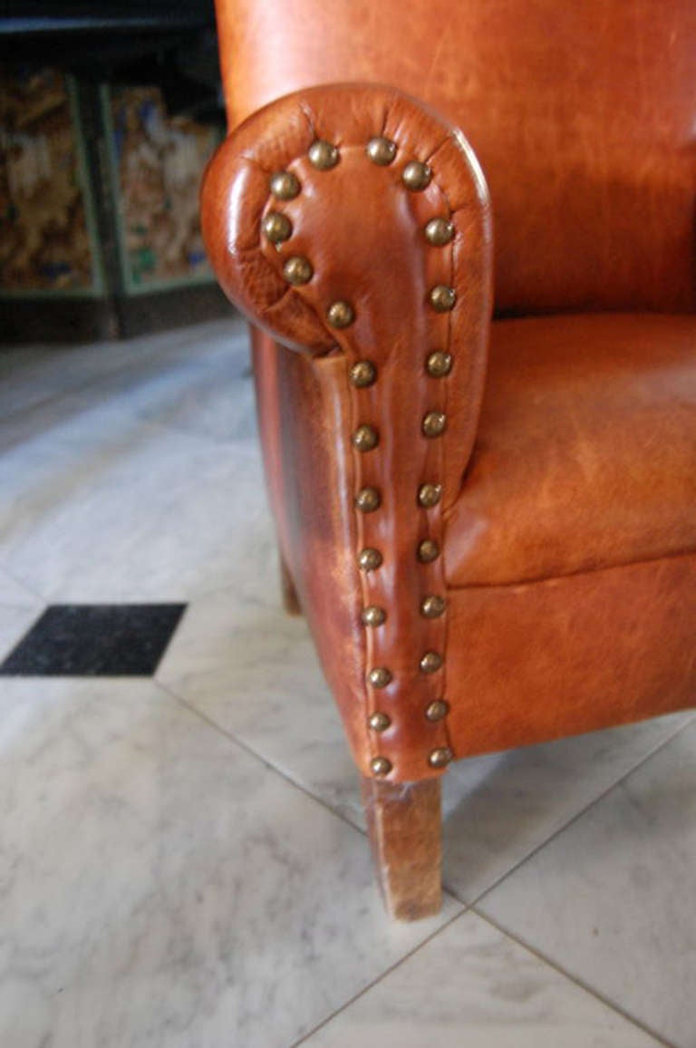 leather club chair for sale child s leather club chair for at 1stdibs 8933