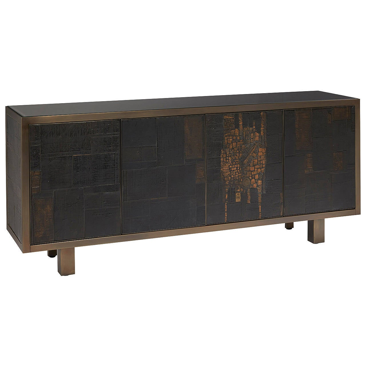 Sideboard with four panels at 1stdibs for Sideboard lindholm