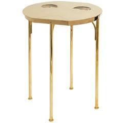 Pedestal table by Claude de Muzac