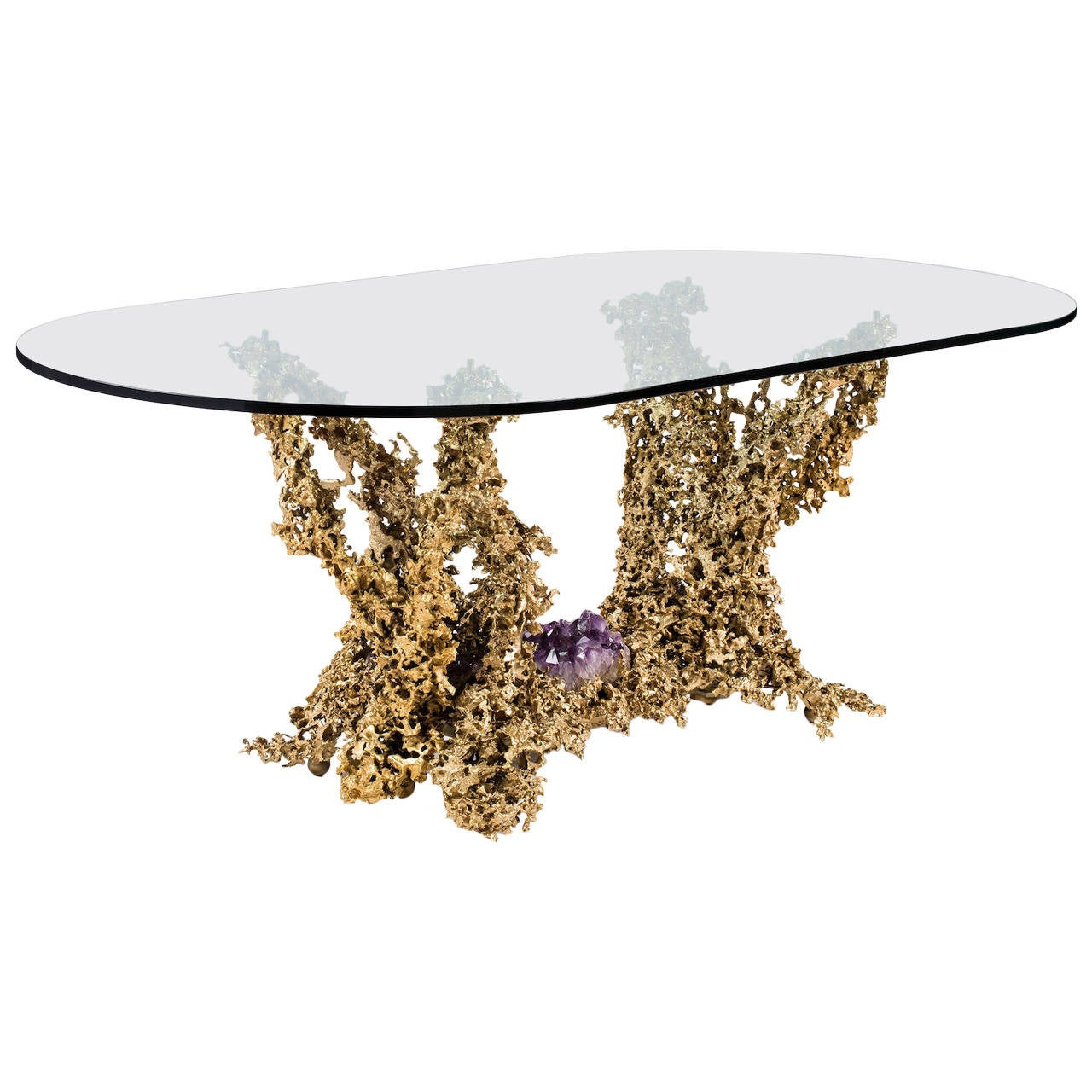 2472212 for Oval glass dining table