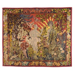 """Le Matin"" tapestry by Pierre Dubreuil"