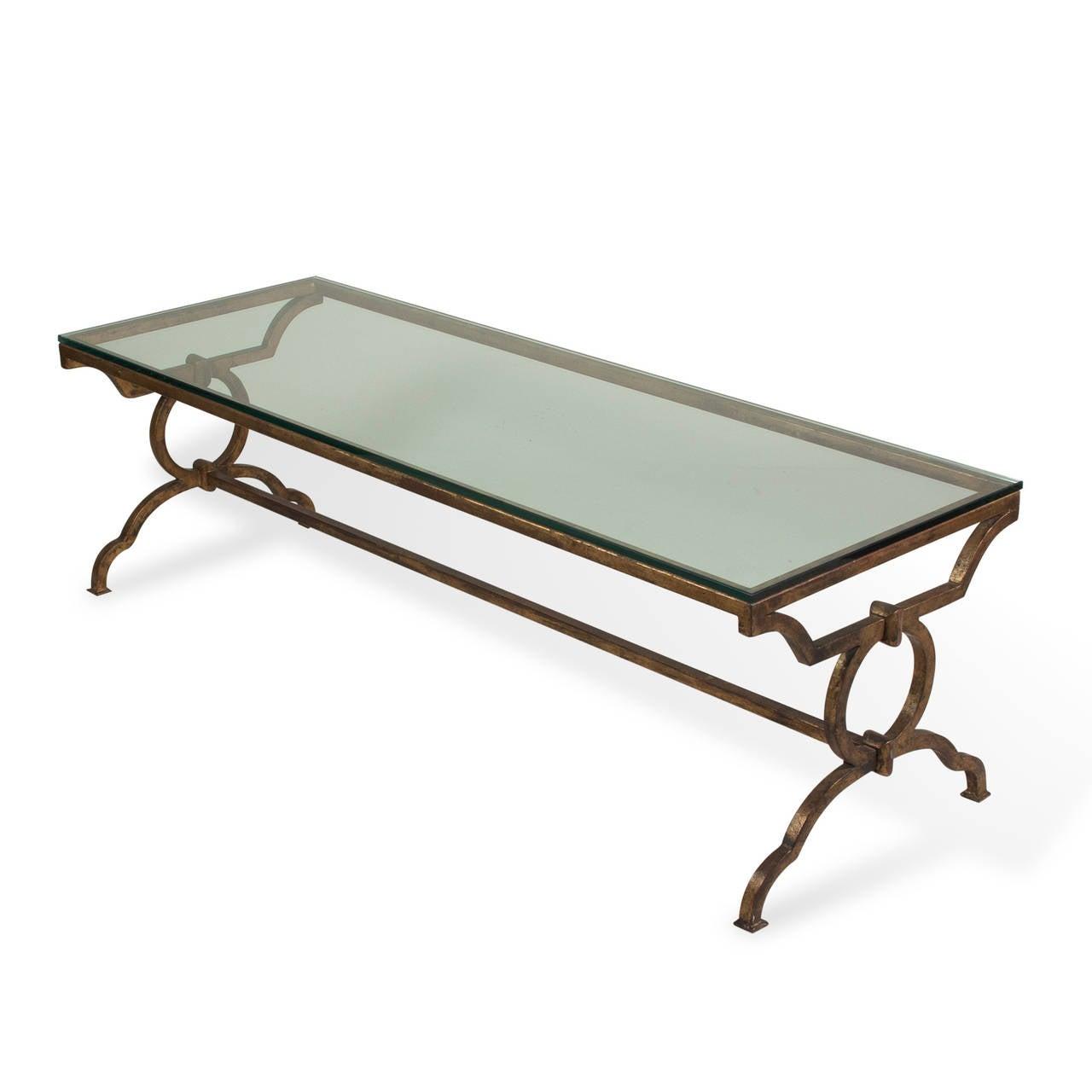 Gilt Iron Coffee Table At 1stdibs