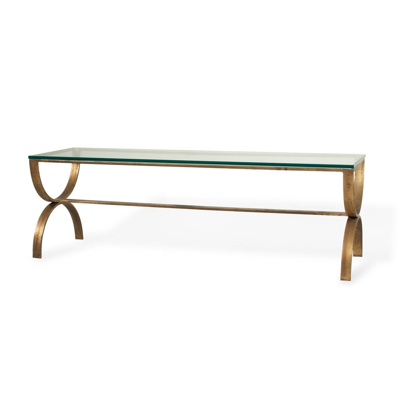 Gilt Steel Coffee Table For Sale At 1stdibs