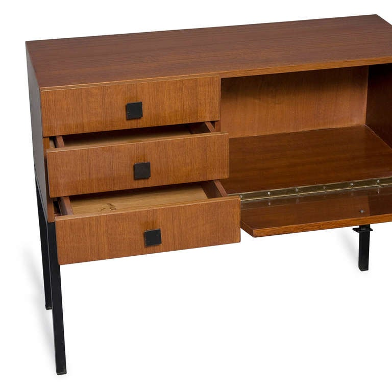Palissandre Cabinet by Guermonprez at 1stdibs -> Table Tele Palissandre