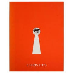 Piero Fornasetti Rare Christie's Auction Catalog