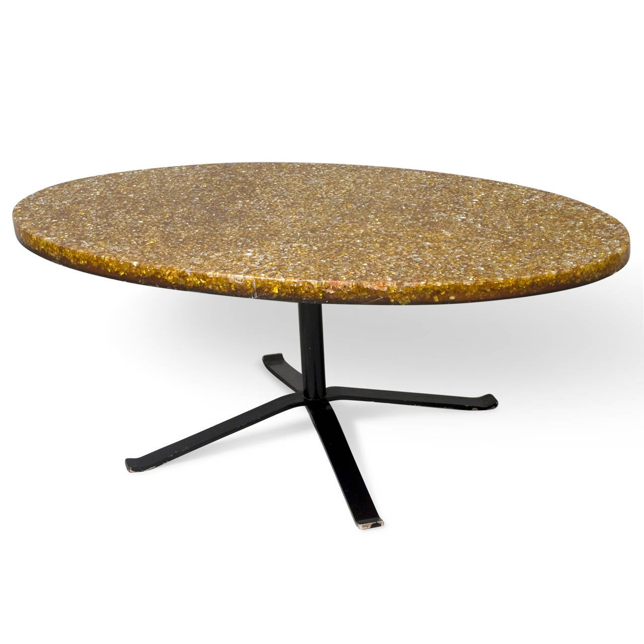 Resin Coffee Table By Pierre Giraudon At 1stdibs