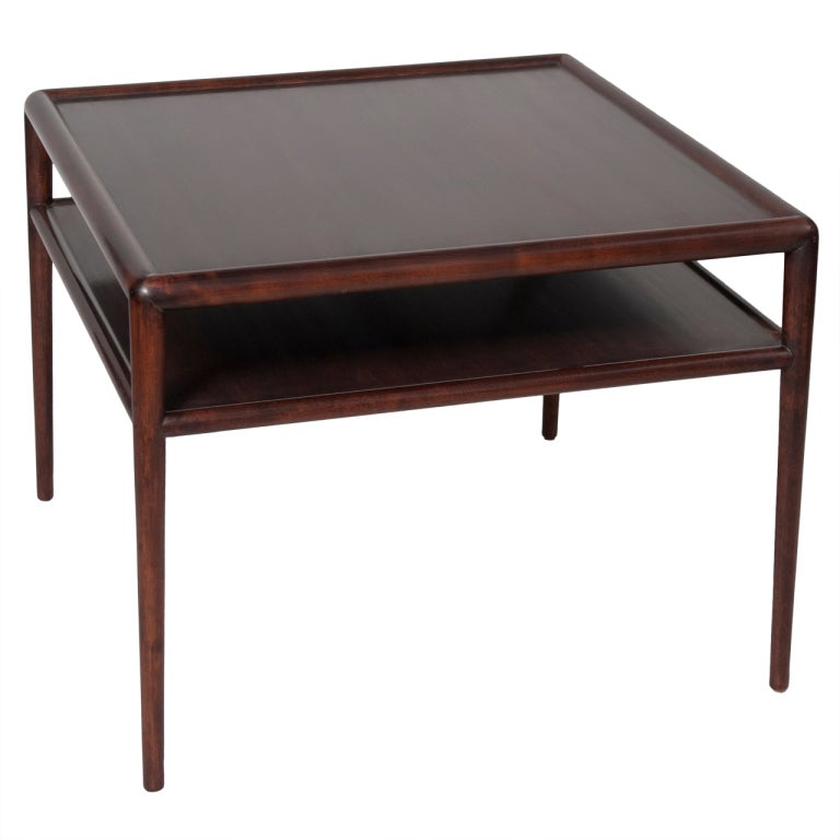 Walnut Coffee Table By T H Robsjohn Gibbings At 1stdibs