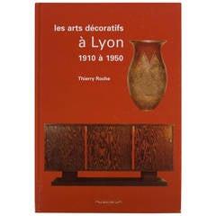 """Book """"Les Arts Decoratifs a Lyon"""""""