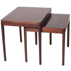 1950s Mahogany Nesting Tables