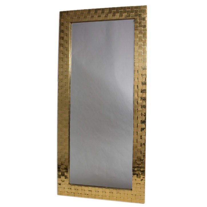 Thick Framed Mirror