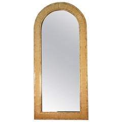 Lacquered Frame Mirror by Enrique Garcel