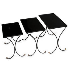 Jean Royère Style Nesting Tables