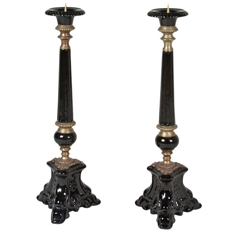 Black Candlestick Holders 28 Images Wooden And