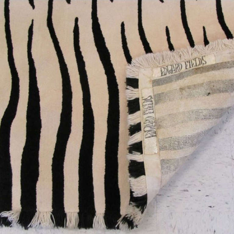 Zebra Rug by Edward Fields 2