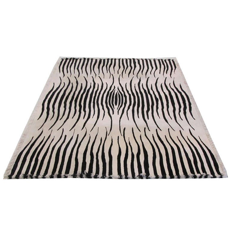 Zebra Rug by Edward Fields 1