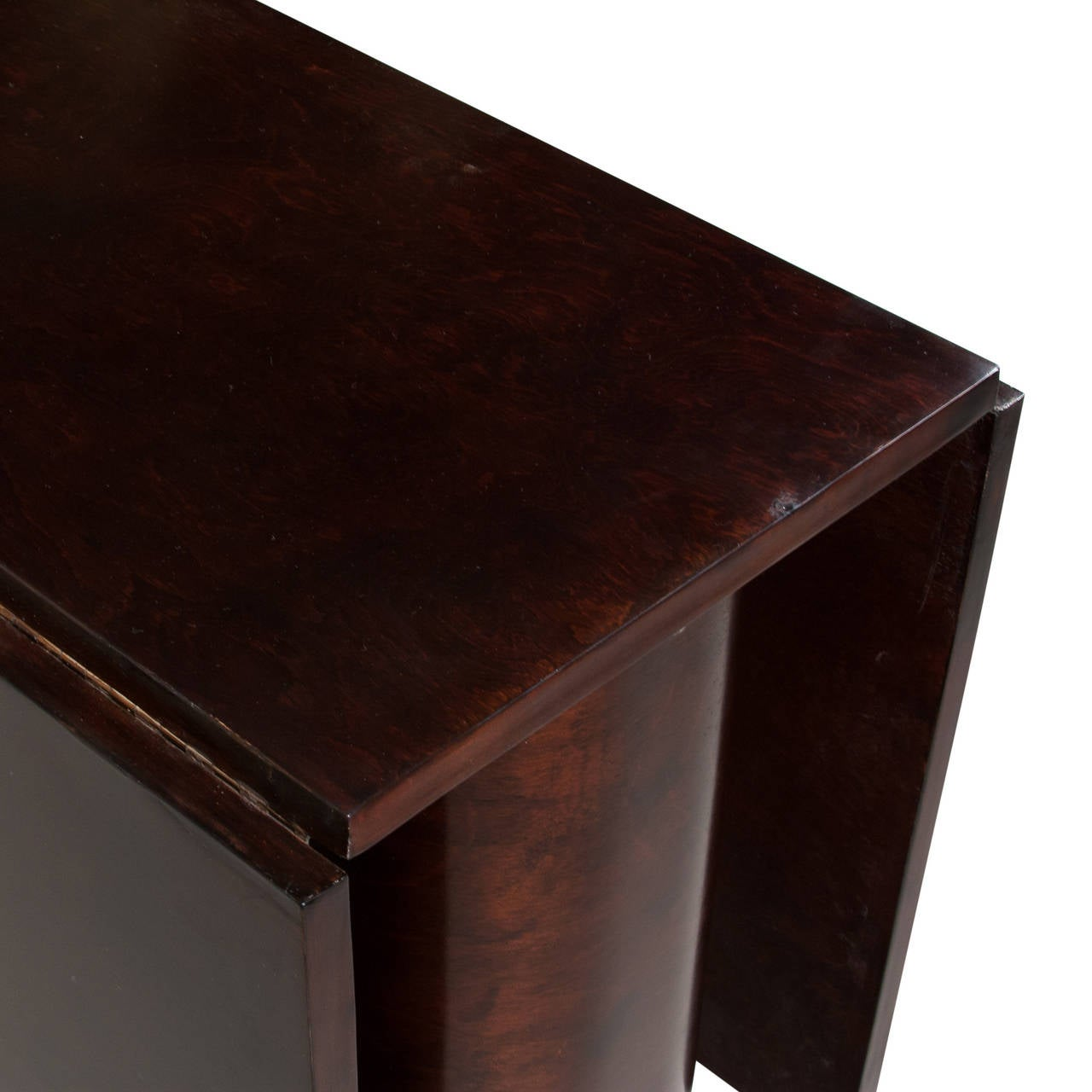 Double Flip Side Gatefold Dining Table At 1stdibs