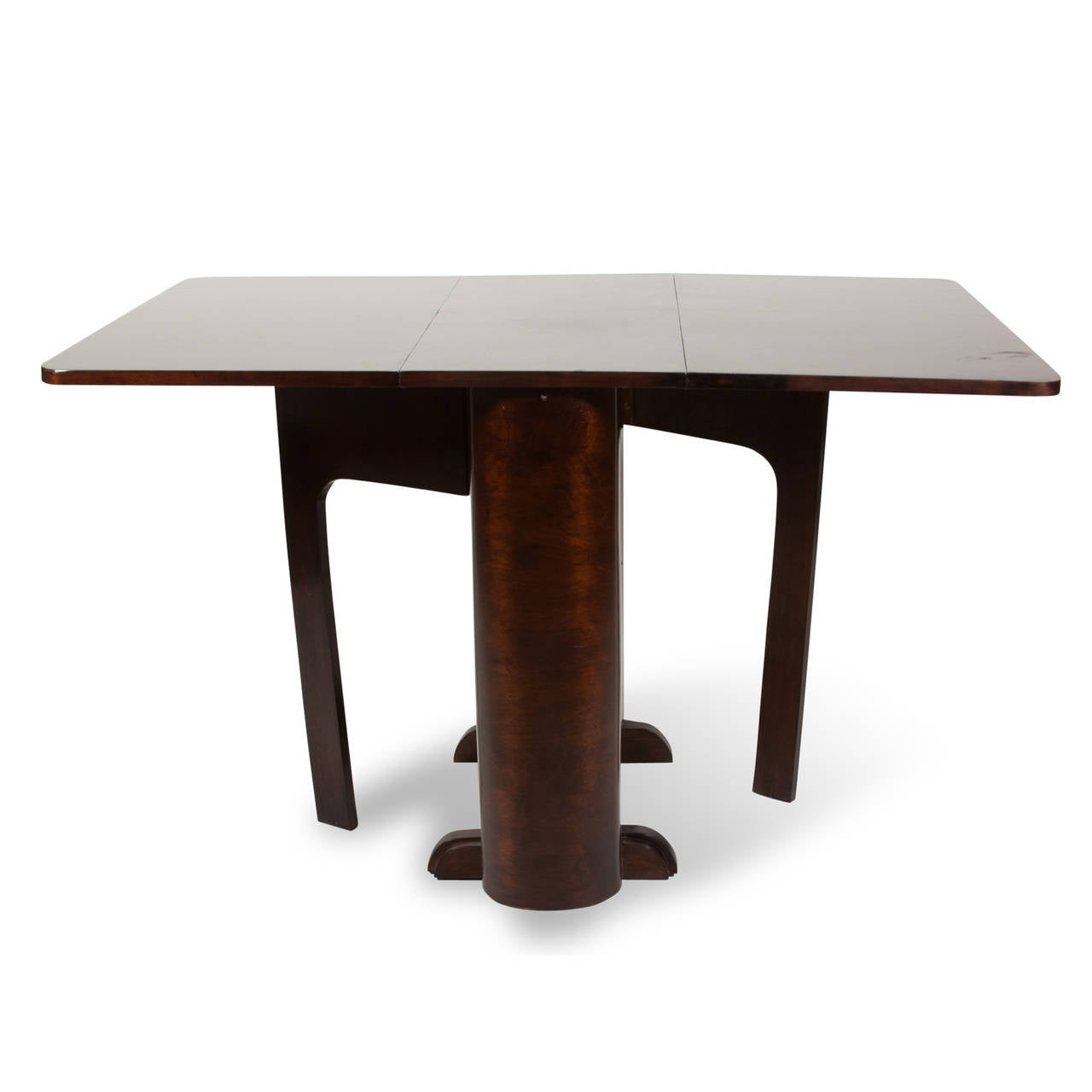 Double flip side gatefold dining table at 1stdibs - Side table dining room ...