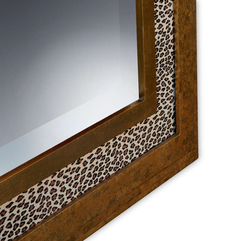 Gilt Leopard Wall Mirror At 1stdibs