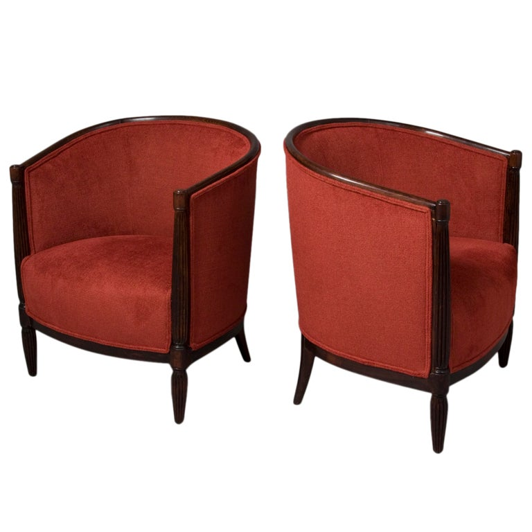 this pair of curved back french salon chairs is no longer available