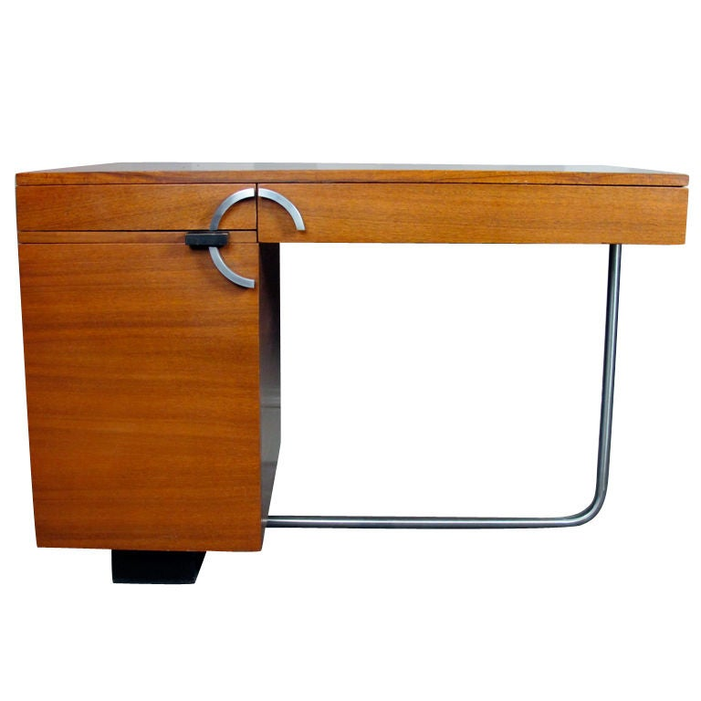 Desk By Gilbert Rohde For Herman Miller At 1stdibs