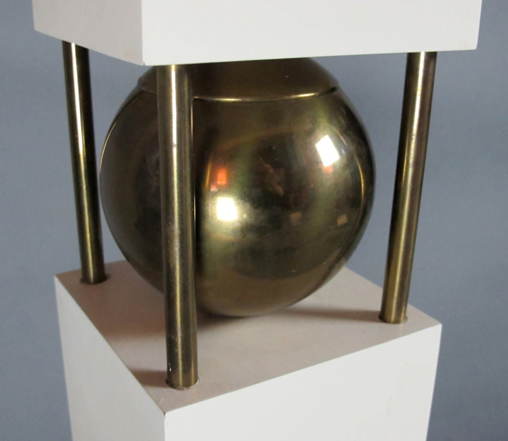 Monumental Pair of Table Lamps by Paul Hanson For Sale 3