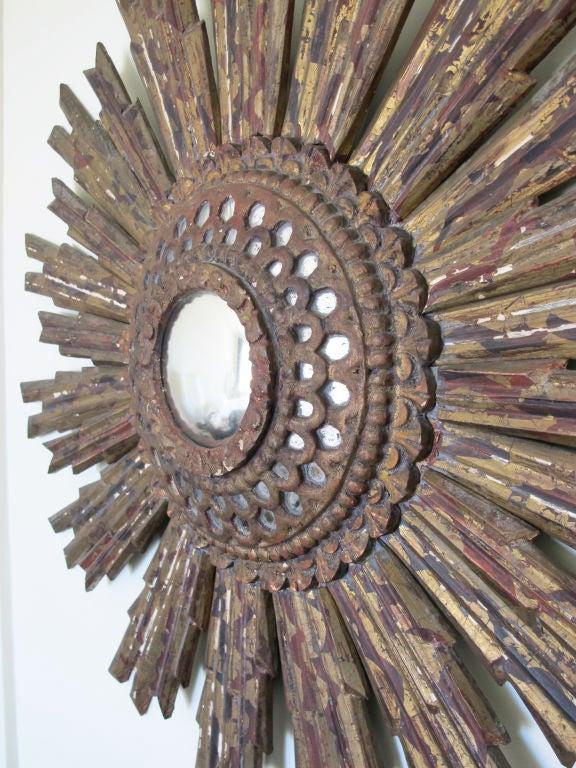 South American Starburst Convex Mirror