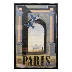 A.M. Cassandre Paris Poster