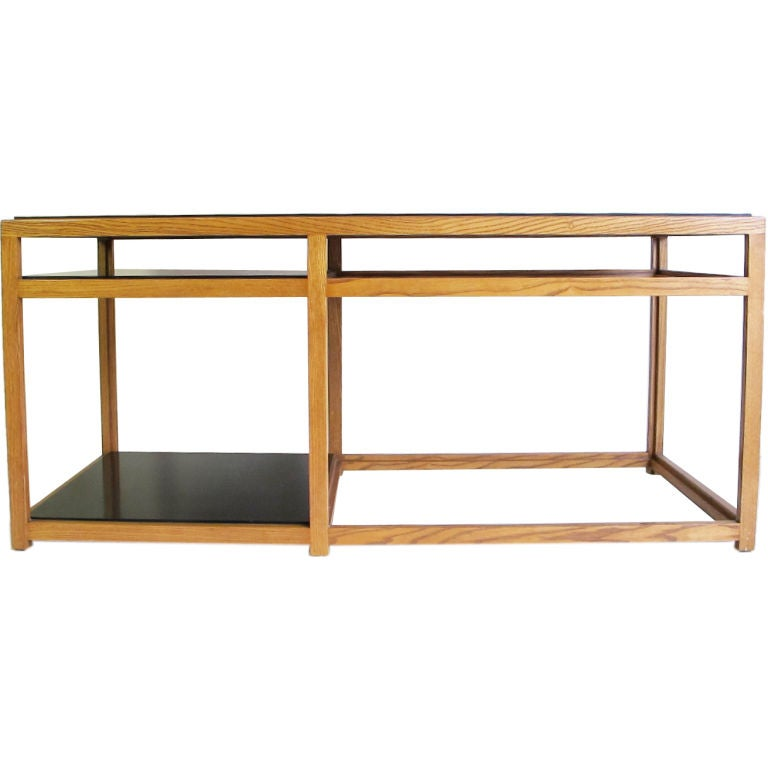 Console Table Designed by Edward Wormley for Dunbar