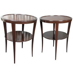 A Pair of Side Tables by Tommi Parzinger