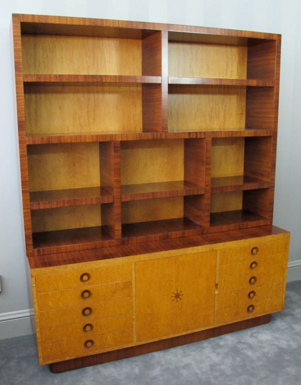 Rare Bookcase Designed by Andrew Szoeke 2