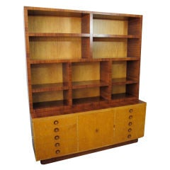 Rare Bookcase Designed by Andrew Szoeke
