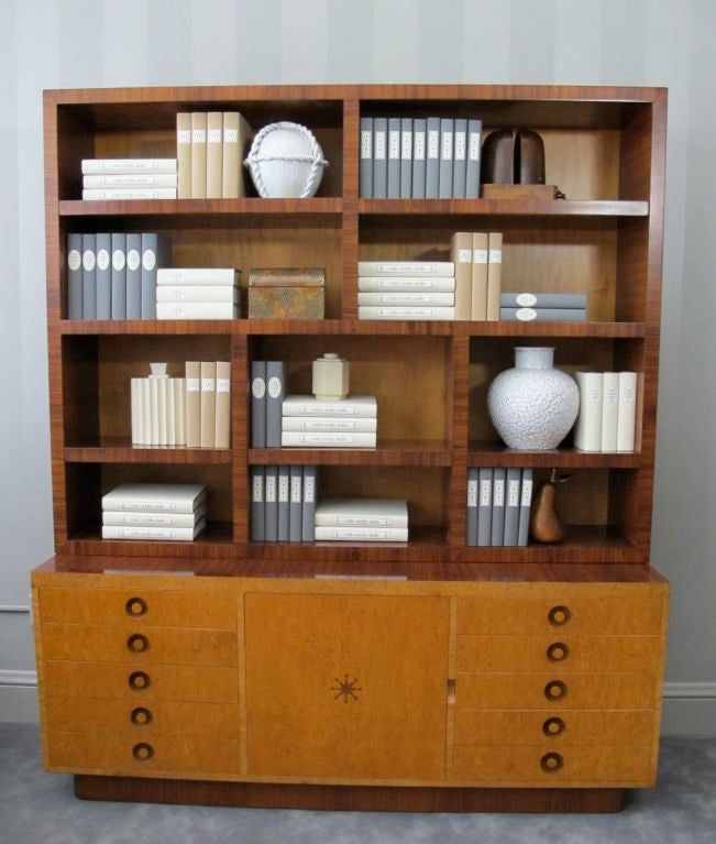 Rare Bookcase Designed by Andrew Szoeke 3