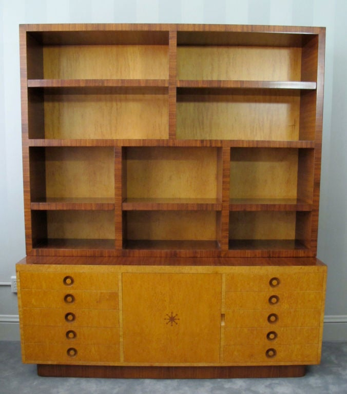 Rare Bookcase Designed by Andrew Szoeke 4