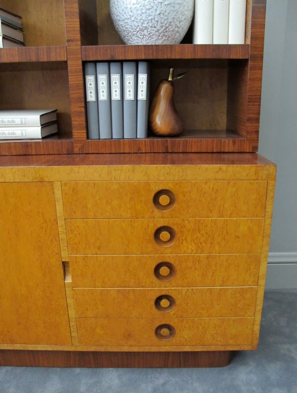 Rare Bookcase Designed by Andrew Szoeke 7