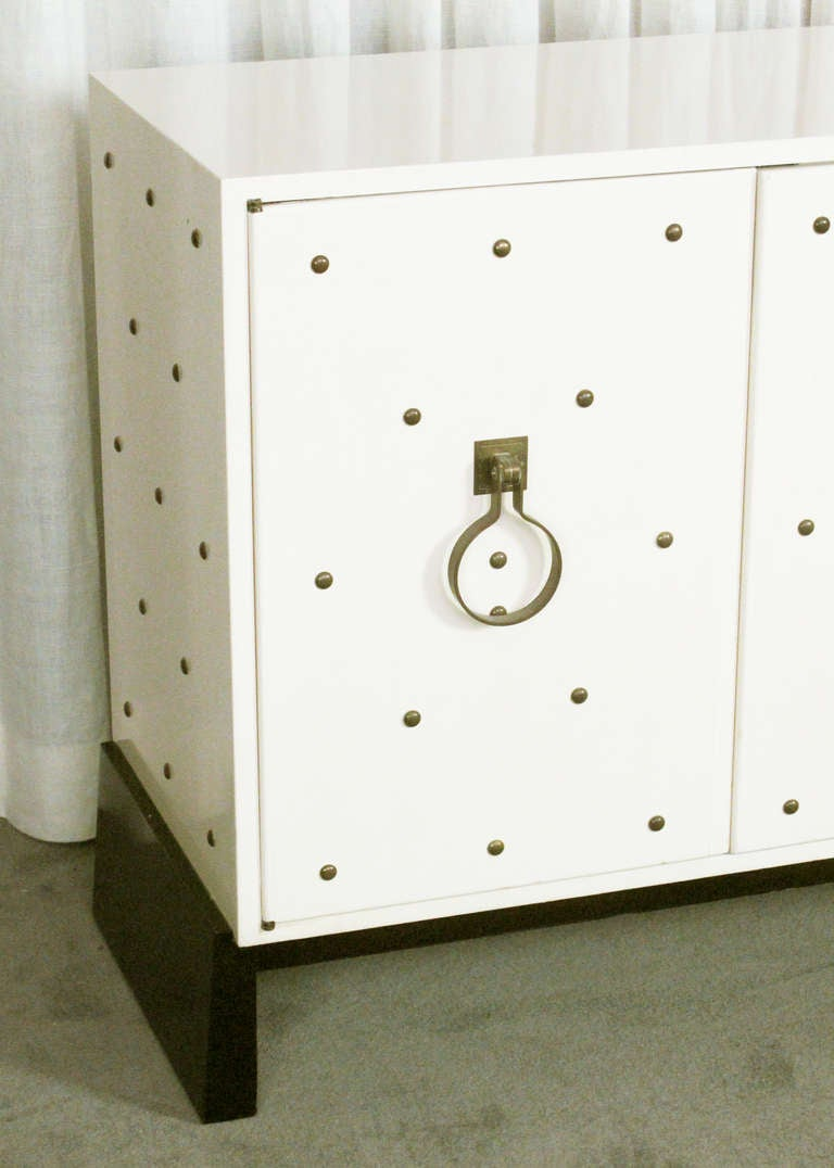 20th Century Studded Sideboard by Tommi Parzinger For Sale