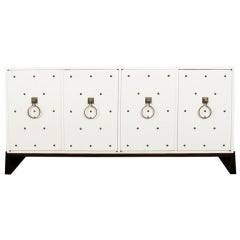 Studded Sideboard by Tommi Parzinger
