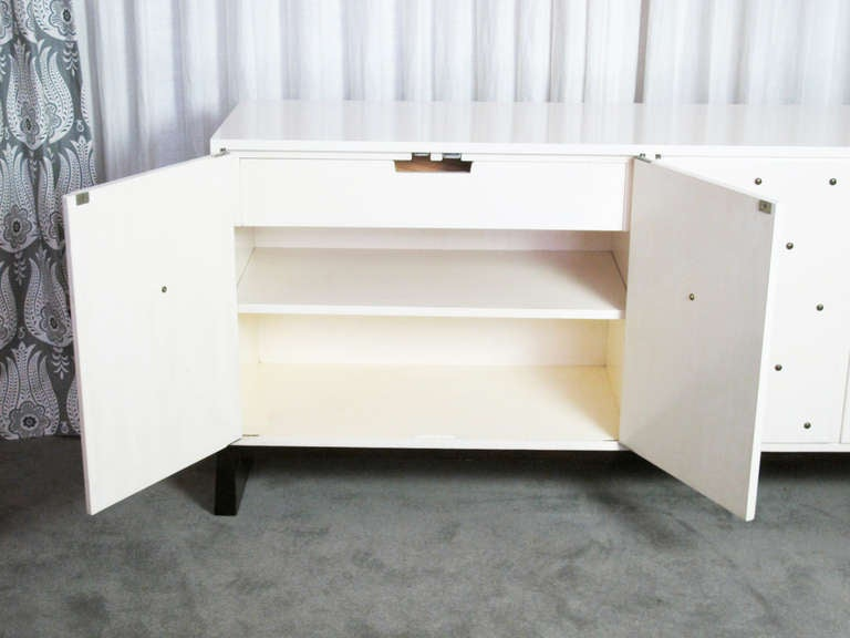 American Studded Sideboard by Tommi Parzinger For Sale