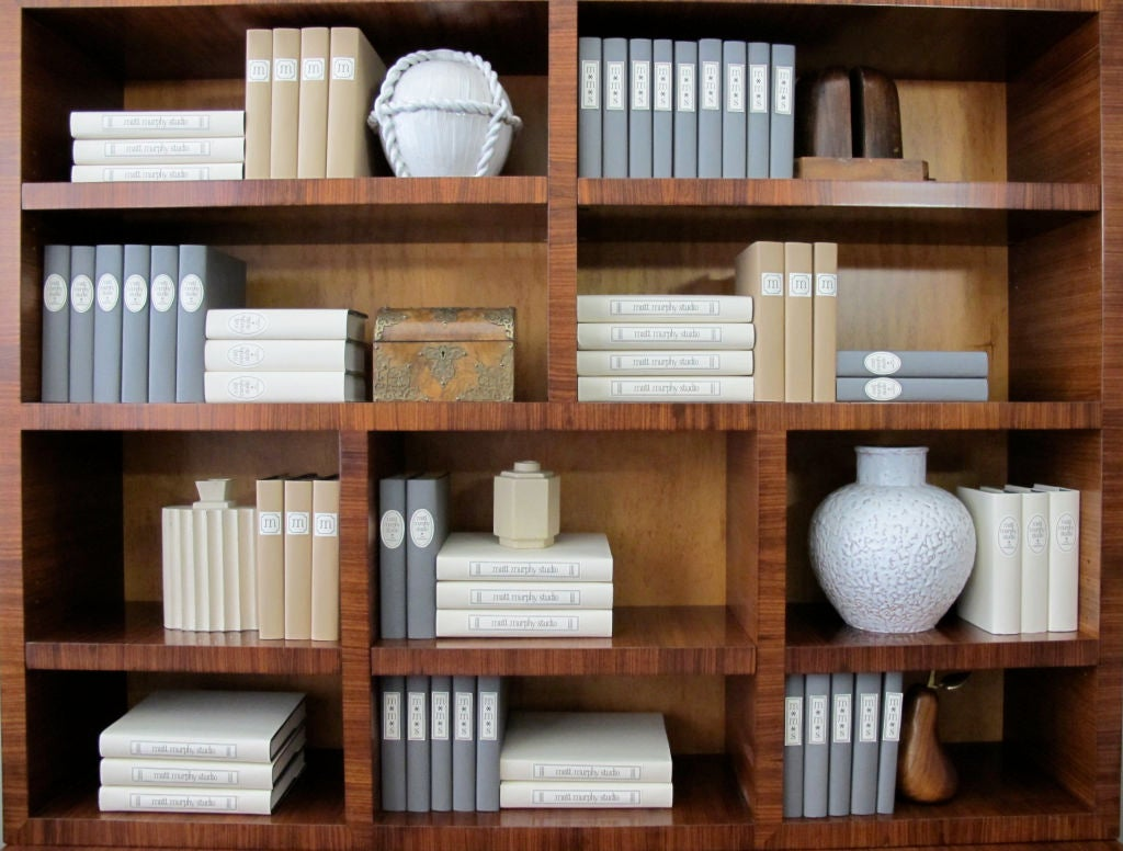 Rare Bookcase Designed by Andrew Szoeke 8