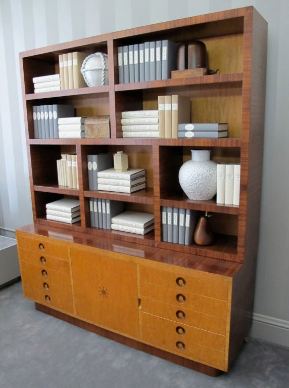 Rare Bookcase Designed by Andrew Szoeke 9