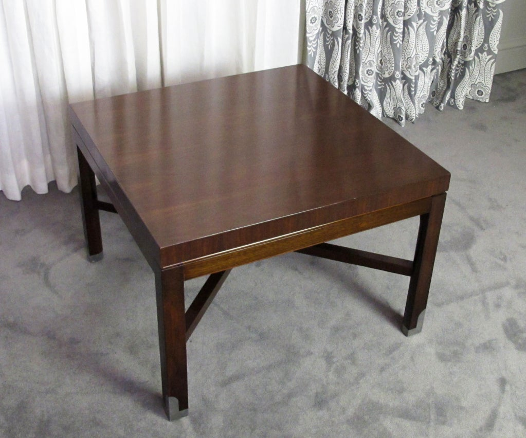 Mahogany An Early Tommi Parzinger Table For Sale
