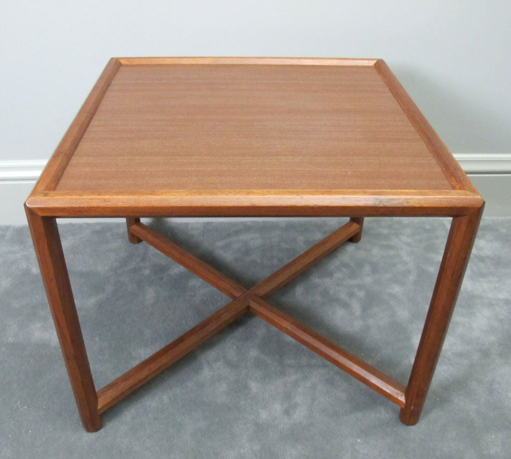 20th Century Janus Table by Edward Wormley for Dunbar For Sale