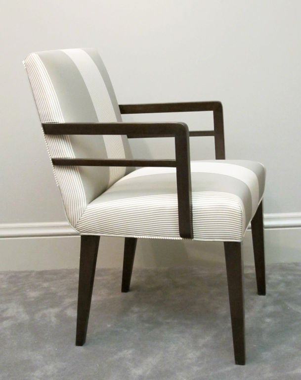Pair of Widdicomb Armchairs Designed by Robsjohn-Gibbings In Excellent Condition For Sale In San Francisco, CA
