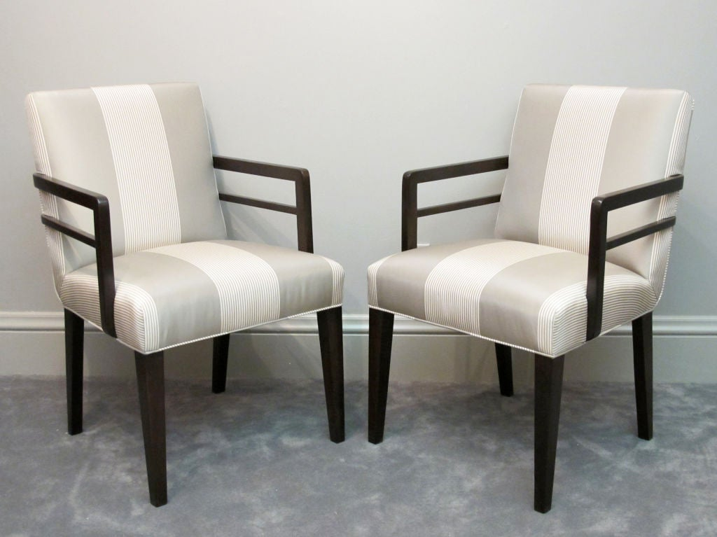 Pair of Widdicomb Armchairs Designed by Robsjohn-Gibbings For Sale 3