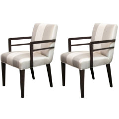 Pair of Widdicomb Armchairs Designed by Robsjohn-Gibbings