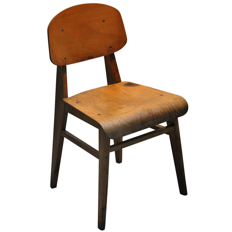 Chair By Jean Prouvé at 1stdibs