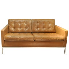 Two seat sofa by Florence knoll