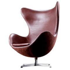 Fabulous Arne Jacobsen Lounge chair model - Egg